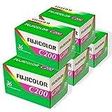 FUJIFILM カラーネガフイルム FUJICOLOR C200 36枚撮り 英文パッケージ 5本セット