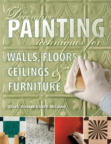Decorative Painting Techniques for Walls, Floors, Ceilings & Furniture (Decorative Furniture Painting compare prices)
