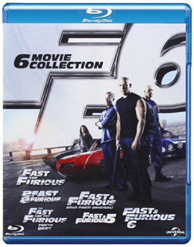Fast & Furious - 6 film collection [Blu-ray] [IT Import]