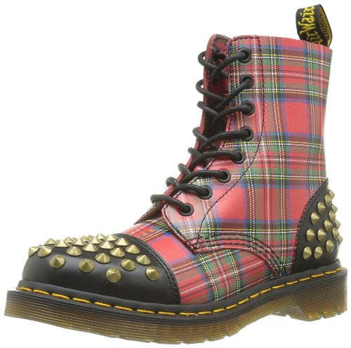 Dr Martens Dai Smooth Tartan Leather, Damen Stiefel & Stiefeletten