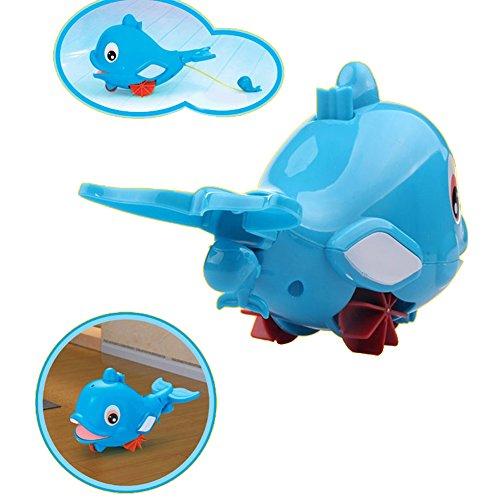 Bath Toy Buddy Dophin: Fajiabao Bathtime BPA Free Swimming Turtle Squirt Bath