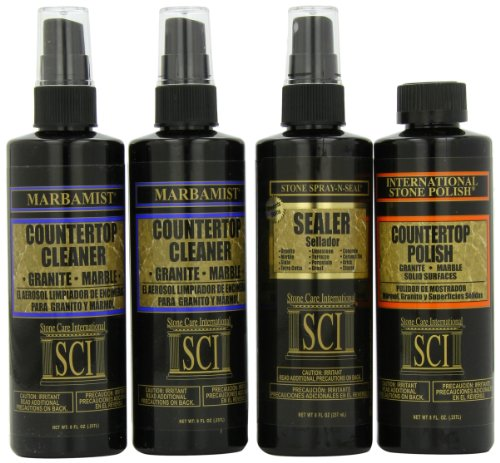Stone Care International  Countertop Care Kit , 8-Ounce Bottles