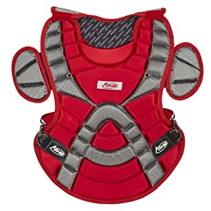 Buy Adams ACP-113 Youth Chest Protector with Detachable Tail (13-Inch, Scarlet) by Adams USA