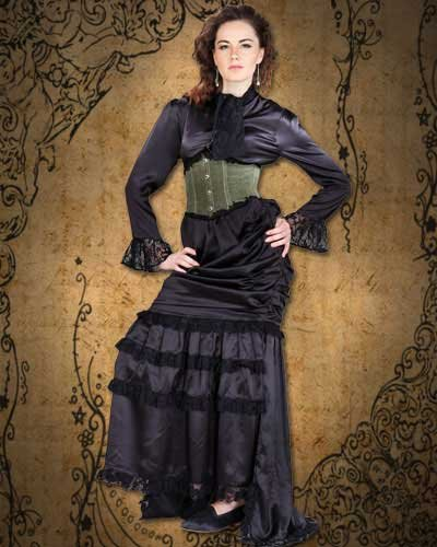 Steampunk Victorian the Wickfield 3-pc Ensemble
