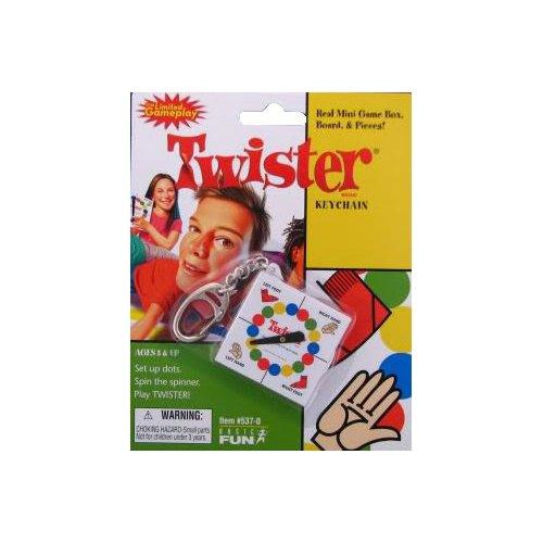 Twister Keychain