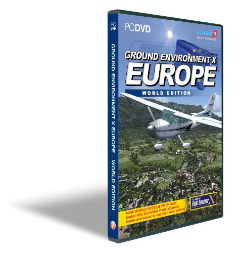 Ground Environment X Europe World Edition for FSX (PC)