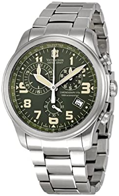 Victorinox Swiss Army Men's 241288 Infantry Vintage Green Dial Watch