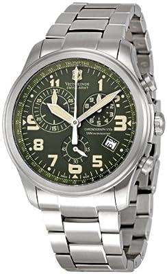 Victorinox Swiss Army Men's 241288 Infantry Vintage Green Dial Watch from Victorinox Swiss Army