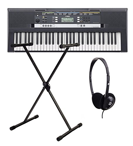 Yamaha PSR E253 Keyboard SET inkl. Ständer + Kopfhörer
