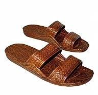 Brown Rubber Slide Sandal Slipper, Co…