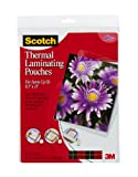 51nAjTJ80zL. SL160  Scotch(TM) Thermal Laminating Pouches,  9 Inches x 11.4 Inches, 20 Pouches (TP3854 20)