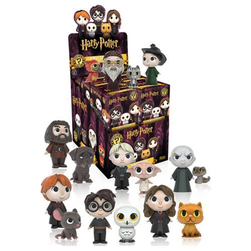 Harry Potter Mystery Minis Mini-Figures Set of 12 (Harry Potter Display Case compare prices)