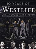 Westlife Album - 10 Years of Westlife-Live at Croke Park (PAL Version) (Front side)