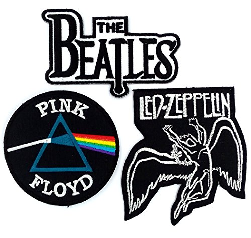 Buy Cheap Set_ROCK010 - Pink Floyd Patch, The Beatles Band Patches and Led Zeppelin Patch, 3 Pcs Hea...