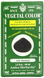 Herbatint Vegetal Hair Color, Ash Chestnut, 2.1 Fl Oz