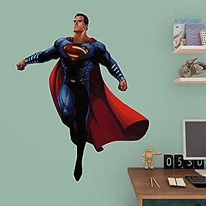 Fathead Batman vs. Superman - Superman Junior Wall Decal at Gotham City Store