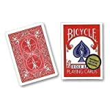 Bicycle Playing Cards, Gold Standard, Poker Size (Red Back)by Bicycle