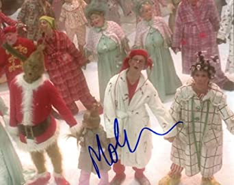 Shannon signed how the grinch stole christmas 8x10 photo betty lou