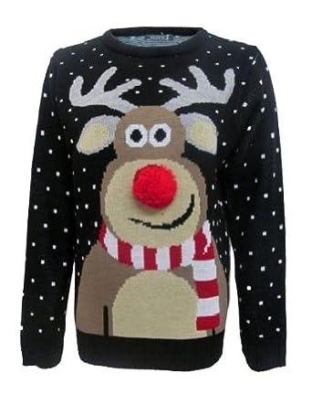 Christmas sweater pom pom