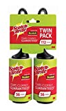 Scotch-Brite Lint Roller Twin Pack, 112 Sheets Total