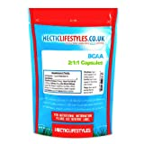 Hectic Sports Bcaa Branched Chain Amino Acid - Pack of 120 Capsules
