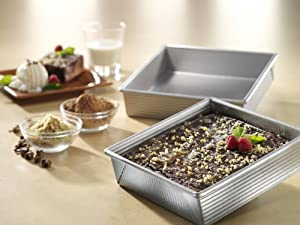 USA Pan Bakeware Aluminized Steel Cake Pan