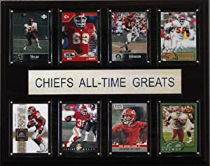NFL Kansas City Chiefs All-Time Greats Plaque by C&I Collectables