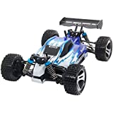 Wltoys A959 B 1:18 Remote Control High Speed Racing Car Four Wheel Drive Off Road Car Blue