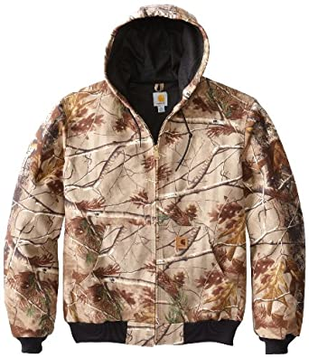 Carhartt Men's Tall Thermal Lined Camo Active Jacket, Realtree Xtra, XX-Large/Tall