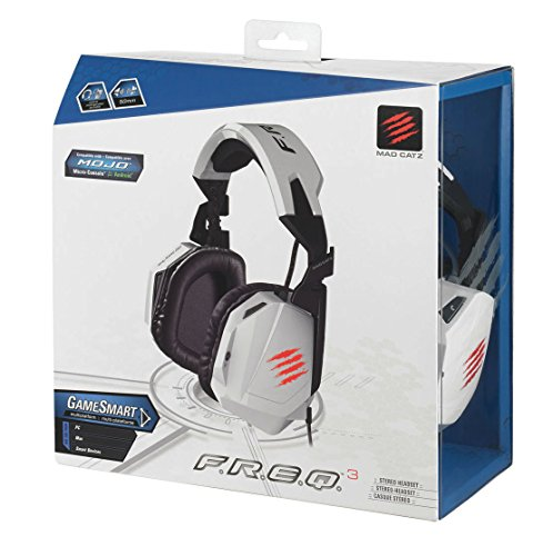 Mad Catz F.R.E.Q.3 Stereo Headset For Pc, Mac, And Smart Devices