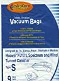 Hoover Type S Envirocare Brand Allergen Microlined Vacuum Bags - 9 in a pack