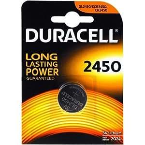 """DURACELL Pile bouton lithium """"Electronics"""" CR2450 3 volt Blister de 1"""