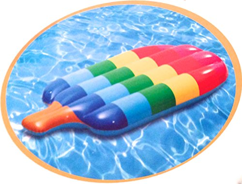 Check Out This Popsicle Lounge Inflatable Raft Float