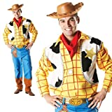 Mens Official Disney Woody Toy Story Cowboy Toy Book Day Deluxe Fancy Dress Costume Outfit