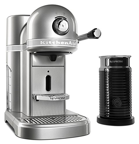 KitchenAid KES0504SR Nespresso Bundle, Sugar Pearl