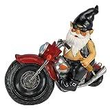 Design Toscano QM7512103 Axle Grease, the Biker Gnome Statue