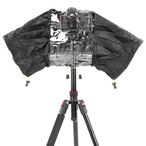 Neewer® Couvertures Anti-Pluie d'Appareils Photo et Caméscopes pour Canon Nikon Sony Pentax Olympus Fuji et d'autres Appareil Photo Reflex Numérique
