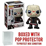 Funko Pop! Movies: Friday the 13th - Jason Voorhees Vinyl Figure (Bundled with Pop BOX PROTECTOR CASE)