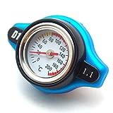 (Island-Puppy) 簡単 取り付け 配線加工なし 水温計 付き ラジエーター キャップ