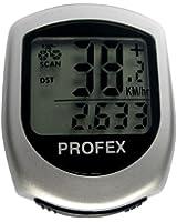 Profex Compteur vélo 15 fonctions Argent