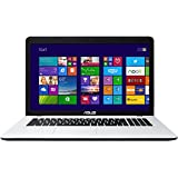 Asus F751MA-TY225H 43,9 cm (17,3 Zoll) Notebook (Intel Core 2-Quad N2940, 2,2GHz, 8GB RAM, 500GB HDD, Intel HD, DVD, Win 8) weiß