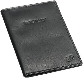 Amazon.com: American Tourister Leather Passport Cover ...