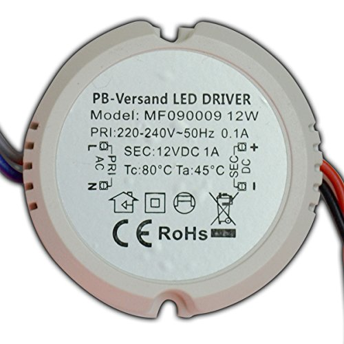 Pb Versand : pb versand trasformatore rotondo per lampadine mini led 12 v dc 12 w g4 gu4 mr16 mr11 ~ One.caynefoto.club Haus und Dekorationen