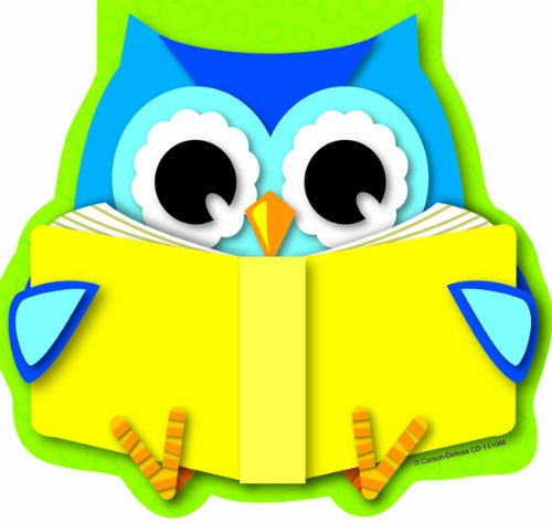 Carson Dellosa Reading Owl Notepad (151066)
