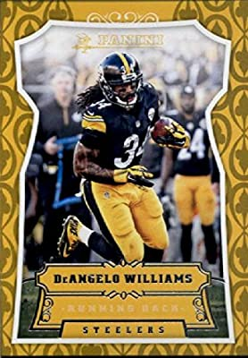2016 Panini #3 DeAngelo Williams Pittsburgh Steelers Football Card