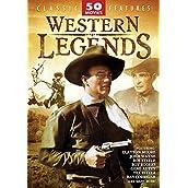 Western Legends 50 Movie Pack DVD Set