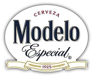 Amazon.com: Modelo Cerveza Especial MeXican Beer Drink Car Bumper
