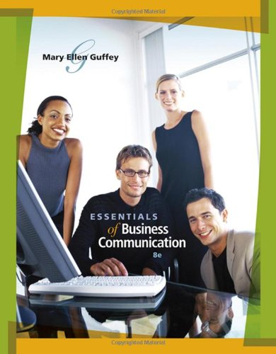 Essentials of Business Communication (with...