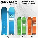 16-17 CAPITA キャピタ SPRING BREAK SLUSH SLASHER スプリング ブレイク スラッシュスラッシャー スノーボード パウダーボード (SLUSH_SLASHER, 147)