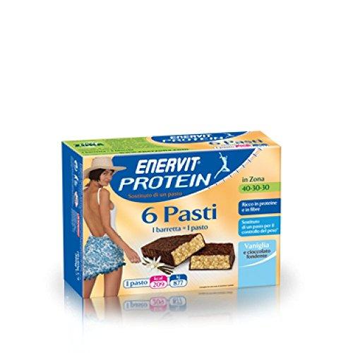 Enervit Protein 6 Pasti Vaniglia/Cioccolato 6 Barrette